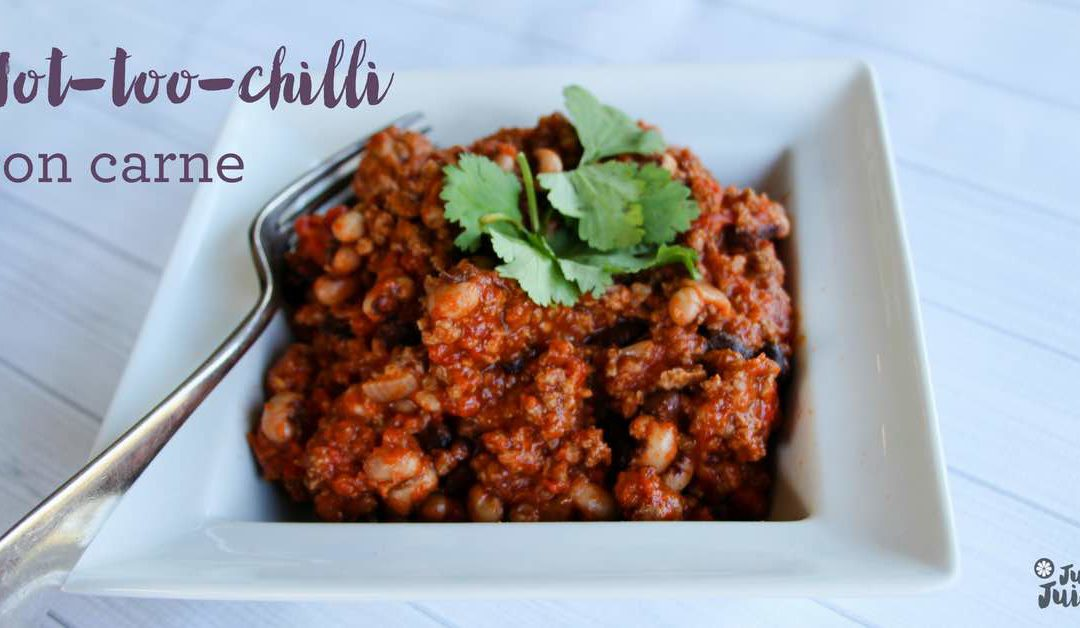 Not-too-chilli con carne