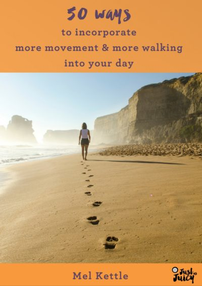 50 ways to incorporate more movement and walking into your day